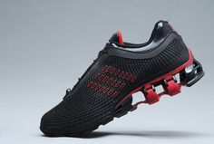 brand new 84f7c 2631d Black   Red High Quality Adidas Porsche Design Sport Bounce Shoes New Style