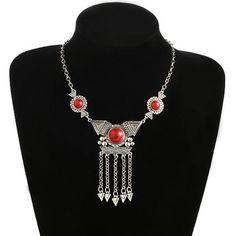 Viver Gold, Silver Choker Necklace