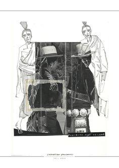 Fashion Sketchbook - fashion illustrations; fashion design process; fashion portfolio // Valentina Desideri