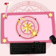 Hot Card Captor Sakura KINOMOTO SAKURA Large Mouse Pad Gift Christmas 40*70 cm