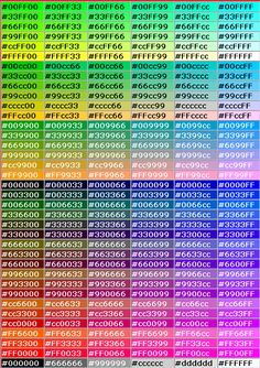 Ultimate Html Color Hex Code List  HttpClrlvRsDKayk
