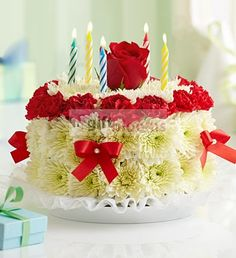 51 Best Birthdays Images Floral Cake Cake With Flowers Flower