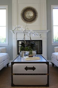 Silver sage living room