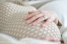 DIY Maternity Photos - A Burst of Beautiful