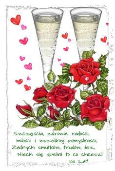 Z okazji... 😚😚😊❤🍰🍬💚🌷💟🍷🍰🌷🍷😚💜🍨🍰🌷🍷 Flute, Glass Vase, Champagne, Tableware, Decor, Dinnerware, Dishes, Decorating, Flutes