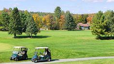 Villas on the golf course