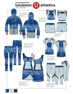 Women's Activewear/Outerwear/Outdoors Lifestyle by Stefania Corti at Coroflot.com