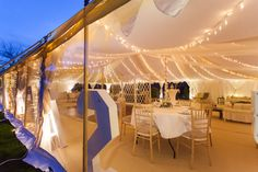 Oyster Pearl Tent Photoshoot