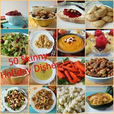 50 Skinny Holiday Side Dishes - Easy, healthy recipes to get you through your holiday season without hurting your waistline.