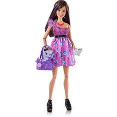 Barbie Fashionistas Sassy + Animal de Estimação