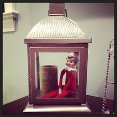 Elf on the Shelf: Don't nobody light that candle.