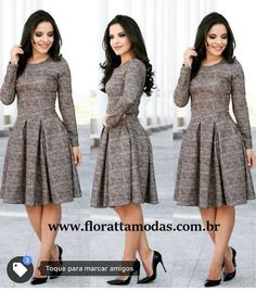 Look inverno church outfits, office outfits, modesty fashion, fashion dress Cute Dresses, Beautiful Dresses, Casual Dresses, Dresses For Work, African Fashion Dresses, African Dress, Modesty Fashion, Fashion Outfits, Fashion Fashion
