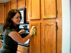 Avoid sanding cabinets before painting, painters trick. Chemical-free