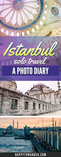 Solo female travel in Istanbul, Turkey. This photo diary covers a four day itinerary in Istanbul, from the perspective of a solo female traveller!
