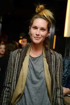 Erin Wasson at Private Tasting Party at The Wayfarer / id : 1034722 by Carly Otness Erin Wasson, World Of Fashion, Boho Fashion, Fashion Beauty, Fashion Outfits, Fashion 2018, Fasion, Chloe Sevigny, Ethno Style