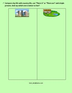 """This worksheet is helpful for improving students' writing skills, and it's appropriate for practicing simple present. Students should start each sentence with """"there is"""" or """"there are"""". It's suitable for primary students. This can be a great activity to prepare students of Cambridge Movers, for part 1 of the speaking exam (photo comparison)."""