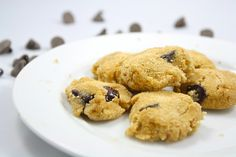 Healthy Microwave Chocolate Chip Cookies