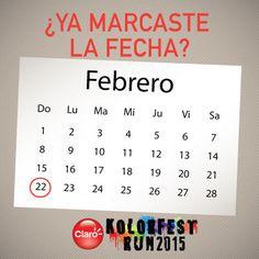 ¡No olvides esta fecha importante! #KolorFestRunGT  #muchomásqueunacarrera #muypronto
