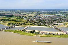 Room for the River | Nijmegen, The Netherlands | H+N+S Landscape Architects #landscapearchitecture #design #netherlands #water #river #infrastructure