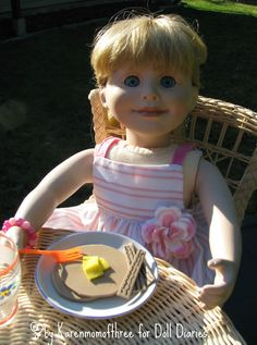 Doll Craft: Make Your Own Doll Breakfast Food