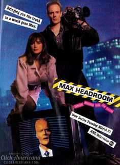 Max Headroom: 20 minutes into the future (1987)