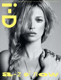 Kate Moss ID Cover