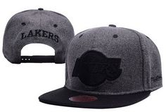 NBA Los Angeles Lakers Snapback Gray
