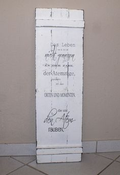 schild holz shabby chic spruch shabby chic style shabby and chic. Black Bedroom Furniture Sets. Home Design Ideas