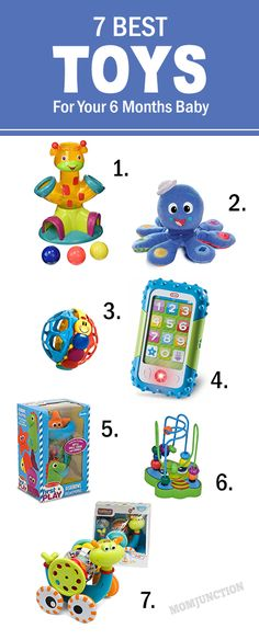 7 Best Toys For 6 Month Old
