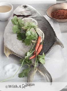 Best of pomfret fish recipe on pinterest for How to cook a whole fish