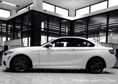 BMW M235i Cope Alpine White with Black Dakota Leather Currently in our showroom!