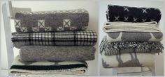 Vlnené deky - škandinávsky dizajn