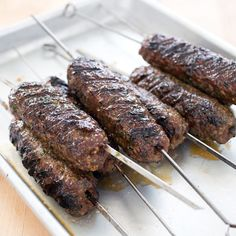 Grilled Lamb Kofta | America's Test Kitchen
