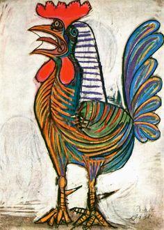 Pablo Picasso, Gallo, 1938