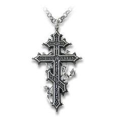 Balkan Revenant's Greek Orthodox Cross Necklace Pendant Alchemy Alternative Lifestyle Women's Men's Jewelry A.E.,http://www.amazon.com/dp/B00AR5NIFW/ref=cm_sw_r_pi_dp_lOVCsb0QE3BZ8ZZP