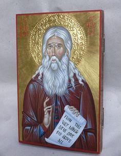 Herman of Alaska hand painted orthodox icon created by Bulgarian artist Georgi Chimev Church Interior, Saint Nicholas, Art Icon, Orthodox Icons, Bulgarian, Roman Catholic, Alaska, Oriental, Saints