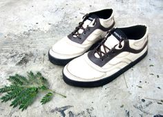 SALE US 7.5 #handmade #women cream brown leather #shoes by MarapulaiClothing, €65.00
