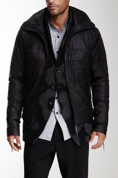 Y-3 by adidas Funnel Collar Down Jacket by Non Specific on @HauteLook