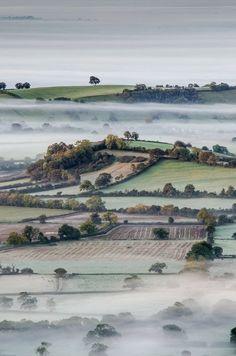 Autumn in Somerset, England