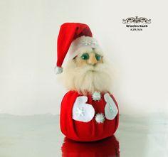 Türstopper Nikolaus / Weihnachtsmann  von Wunderland KIRINS  auf DaWanda.com