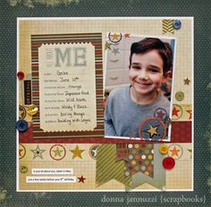 all about me {Simple Stories} - Scrapbook.com