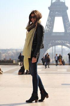 Comfy outfit for Paris