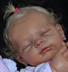 """REBORN Baby """"LUCY"""" Limited Ed. Newborn GIRL by Tina KEWY ? Bluebonnet Babies ?"""