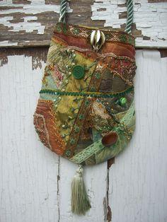 Green and Rust Woodland Fairy Bag:  http://etsy.com/shop/fairybelles