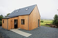 R.House in Isle of Skye, Scotland designed by Rural Design Architects