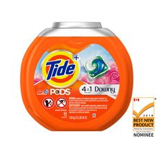 Tide 54 Count April Fresh HE Laundry Detergent at Lowe's. Tide pods + Downy laundry detergent pacs offer the Tide clean you love, now with Downy fabric protect stretch. Use these laundry pacs to clean, Laundry Solutions, Tide Pods, Liquid Laundry Detergent, Tide Detergent, Odor Remover, Odor Eliminator, Downy, Active, Cleaning Supplies