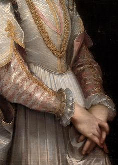 Federico Barocci, Portrait of a Young Lady (detail), ca. 1600