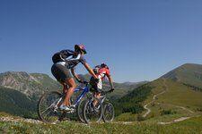 Mountain biken im Sommer in den Nockbergen auf 43 Mountainbike Strecken http://www.pulverer.at/packages-nockbike_pauschale_mit_dem_eigenen_mountainbike__4_oder_7_naechte-148-cat20.de.shtml