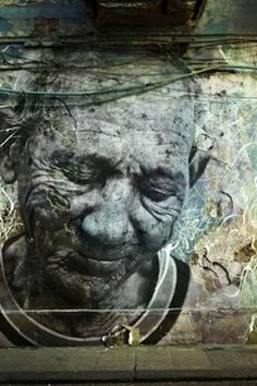 """Artists: JR and Jose Parla Title: """"The Wrinkles of The City"""" Location: Havana, Cuba"""