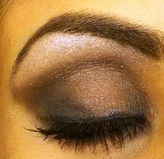 Smokey eye look I tried this morning !!! Love love love it ! Www.youniquelyyoubyamanda.com